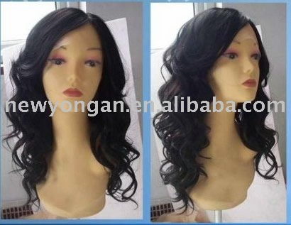 Wholesale top quality 100% indian remy human hair wig