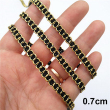 buy black gold ribbon and get free shipping on aliexpress com