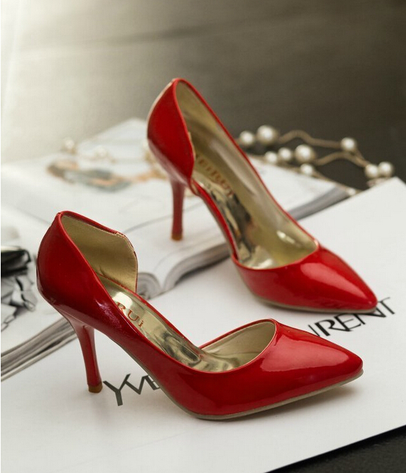 Designer Women Shiny Crocodile Snake Pumps Sexy Pointed Toe High Heels Spring Autumn Shoe Wedding Party