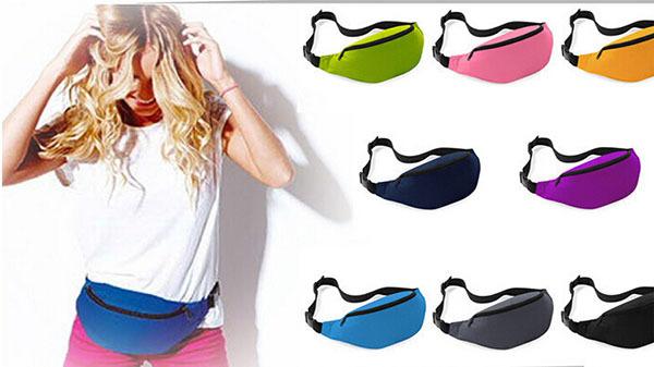 2014 Fashion Men women Outdoor sports bag Running Waist Bag Pack belt Travel Burglar pockets purse - Shenzhen dualwin lighting Technology Co., Ltd store