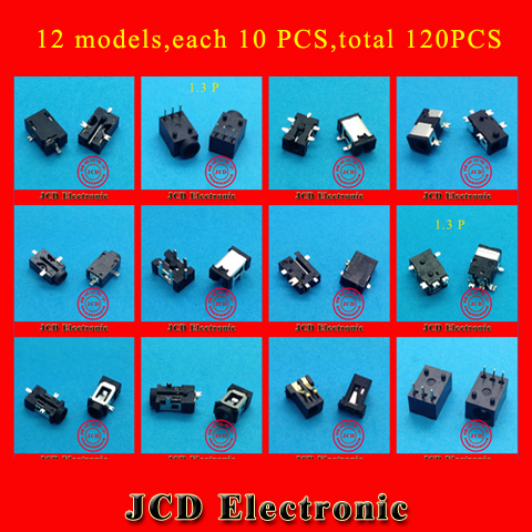 12 models, 120 pcs, Tablet PC Charging Power Connector for Vido Ramos Fly touch Newsmy Teclast Aigo Ainol Cube Gemei etc.<br><br>Aliexpress