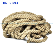 10 mater/lot - 32 ft dia-30mm Twine Cord Hemp Jute Rope String Gift Packing Hang Tag String For Handmade Accessory DIY jute cord(China (Mainland))