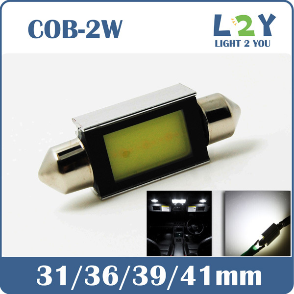 NEW DESIGN! LED C5W Canbus 31MM 36MM 39MM 41MM COB WHITE DOME LIGHT Festoon(China (Mainland))