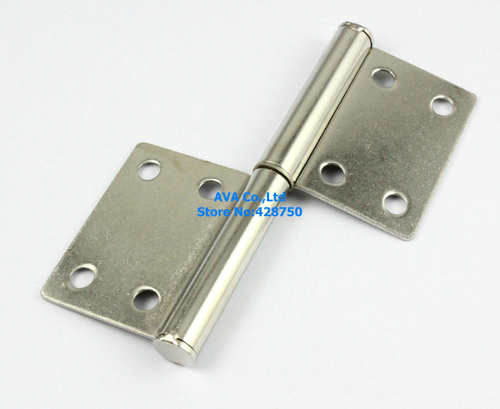 "4 Pieces 4"" Length Rectangular 2 Leaves Flag Hinge Door Hinge / Stainless Steel(China (Mainland))"