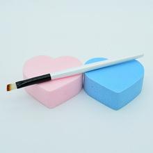 Lady New Portable 1Pc Professional Angled Eyebrow Eye Liner Brow Brush Shader Makeup Brush Cosmetics Tool Studio