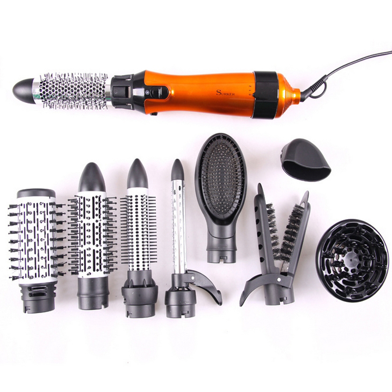 Surker Styling Tools Set For Hair Salon Professional hair dryers with combs for hair bag pack(China (Mainland))