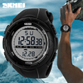 2017 Skmei Brand Men Sports Watches Fashion Casual Wristwatches Multifunctional LED Digital Military Watch 50M Dive