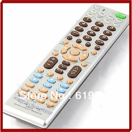 New 8in1 Smart Universal Remote Control Multifunction Controller For TV PVR VDO DVD CD SAT AUD(China (Mainland))