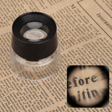 10X Multifunctional Cylinder Eye Magnifier Magnification Loupe Lens Magnifying Glass Tool Lupa for Jewelry Watch Coin