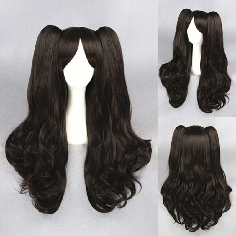 Fate/stay night Anime Hair Tohsaka Rin Wig Women Brown Full Long Curly Wavy Wig Cosplay Hair Wigs