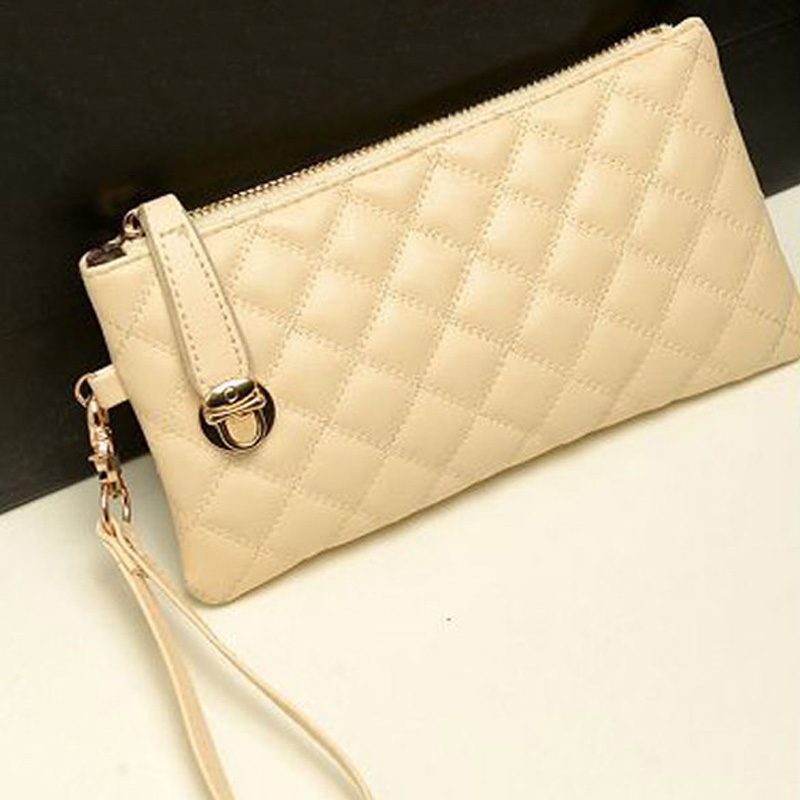 Гаджет  Fashion Women Zip PU Leather Clutch Case Lady Long Handbag Wallet Purse  LY#4 None Камера и Сумки