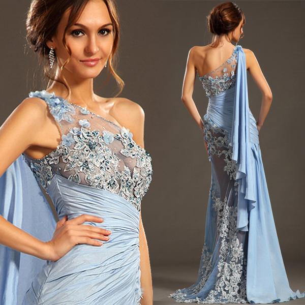 Luxury Arabia style greek goddess evening dress One ...