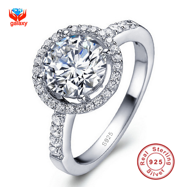 diamond wedding rings for search on aliexpress com by image - Silver Diamond Wedding Rings