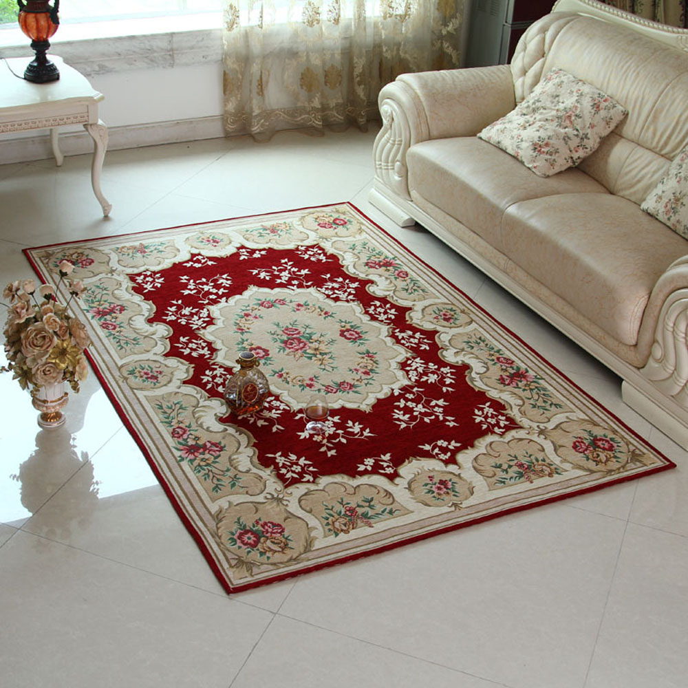 Buy european exquisite non slip thicken for Bedroom rugs