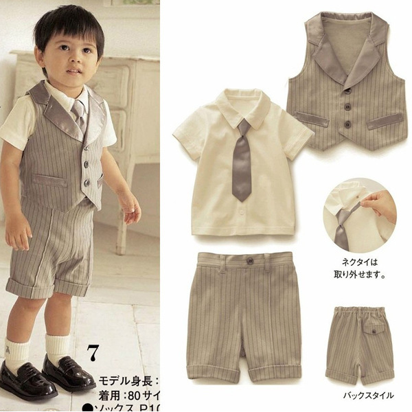 Neutral Newborn Designer Infant Suits Baby Boy Kid Girl
