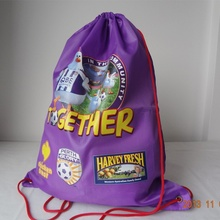 210D polyester kid sport bag promotion school bag(China (Mainland))