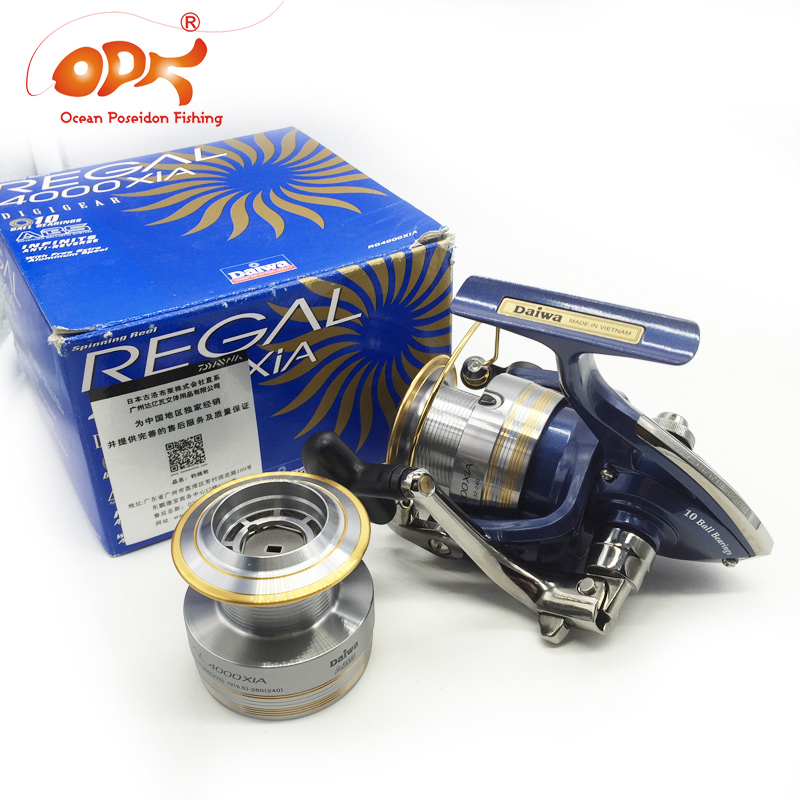 Japanese Original DAIWA Limited Regal Spinning Wheel ,2 X Spool Trolling Reel Fishing Quality(few stock) - Ocean Poseidon Tackle -search(OPF store find me:))