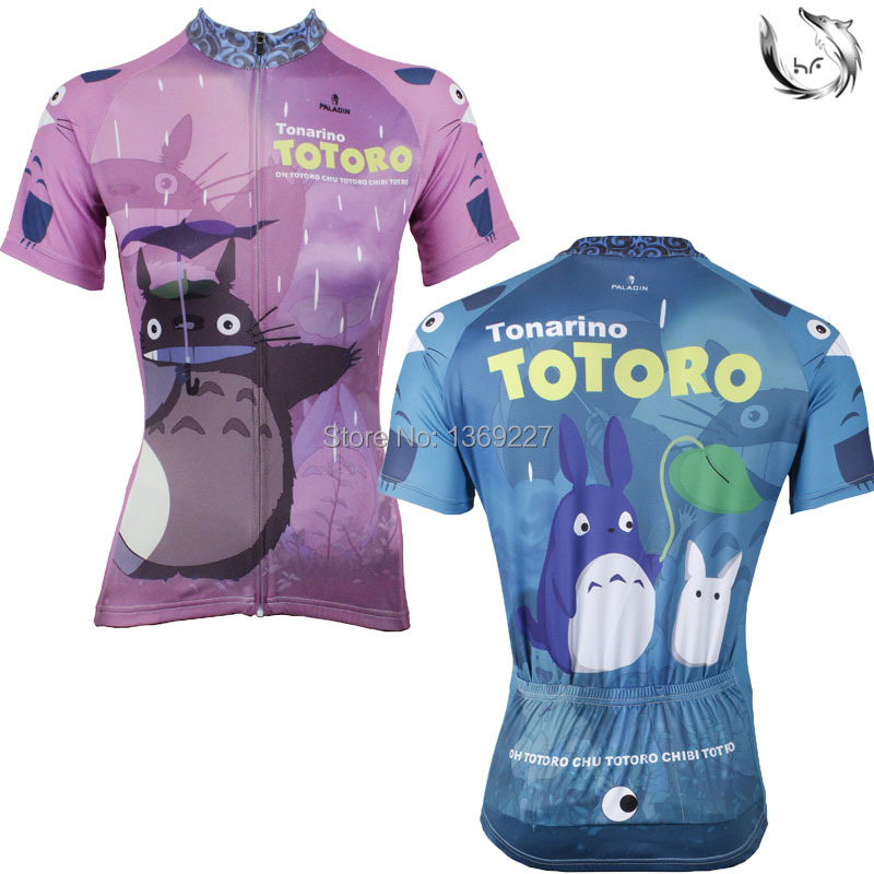 Paladin totoro Lovers cycling jersey 2015 short sleeve sets ropa maillot ciclismo cycling Breathable clothes FreeShopping<br><br>Aliexpress