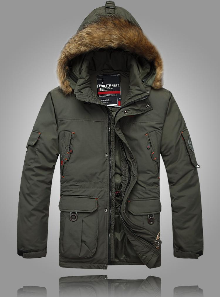 2013 HOT New Winter Parka Men Down Jacket Men's Down Coat Good Quality 5XL(China (Mainland))