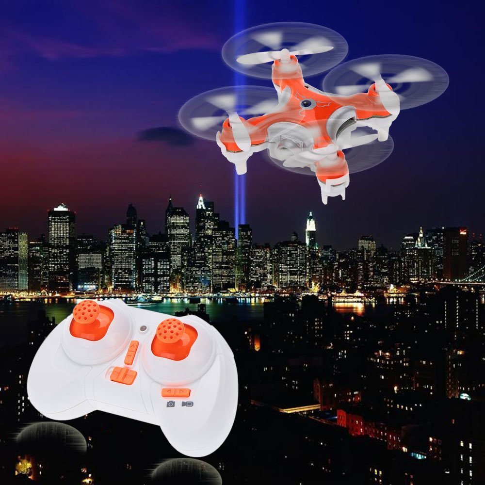 Mini Drone with Camera LED Light Cheerson CX-10C 2.4G 6-Axis Gyro 4CH RC Micro Quadcopter Helicopter Vs H8 Dron Best Toy For Kid