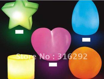 night light LED colorful decoration, strange new luminous gifts, home furnishing supplies,