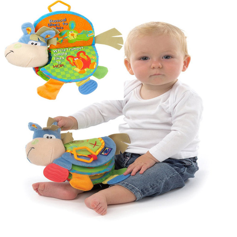 Baby Toy Infant quiet book Toys cloth Doll Early Development Books Toy Learning & Education christmas gift brinquedo(China (Mainland))