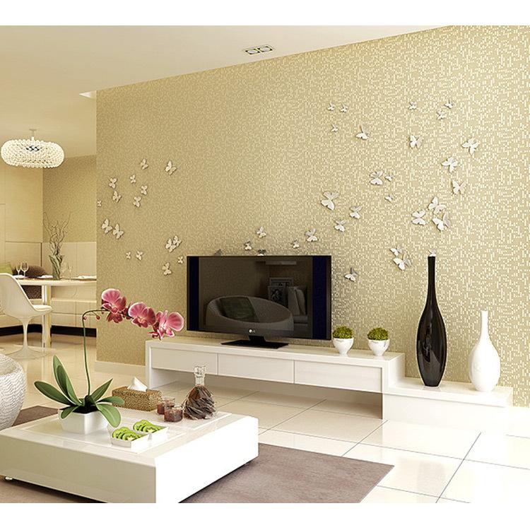 Online kopen wholesale linnen muur papier uit china linnen muur papier groothandel - Moderne woonkamer behang ...