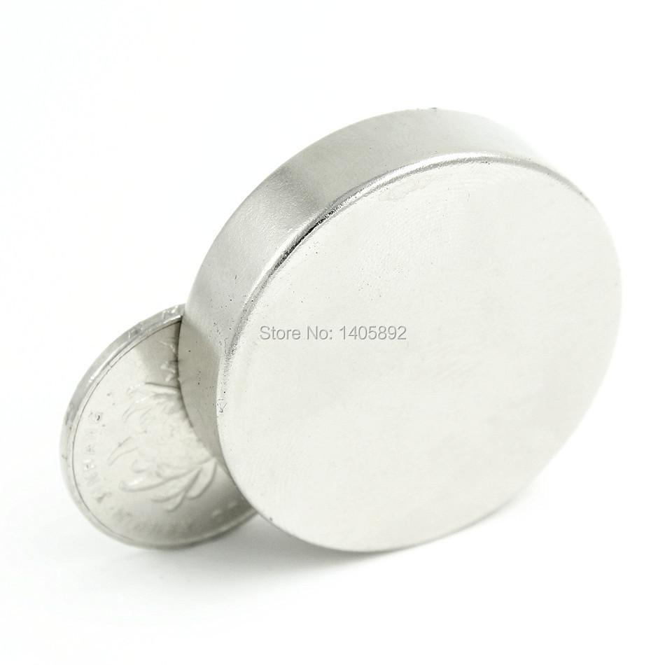 Гаджет  1pcs Super Powerful Strong Bulk Small Round NdFeB Neodymium Disc Magnets Dia 40mm x 10mm N35  Rare Earth NdFeB Magnet None Строительство и Недвижимость