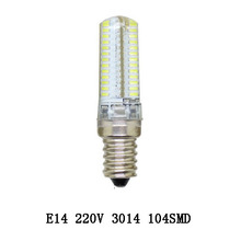 1x E14 3014 Dimmable Led Spotlight 24/48/64/72/120leds High Brightness AC220V for home lighting lampada led lamps CE ROHS(China (Mainland))
