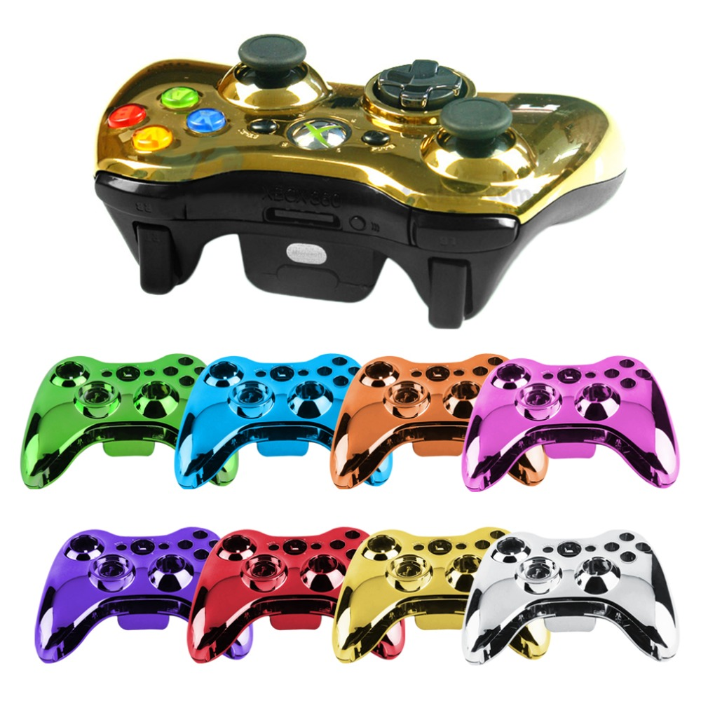 1 pcs 100% brand new Wireless Controller Shell Case Bumper Thumbsticks Buttons Game for Xbox 360 Digital In Stock HOT NEW(China (Mainland))