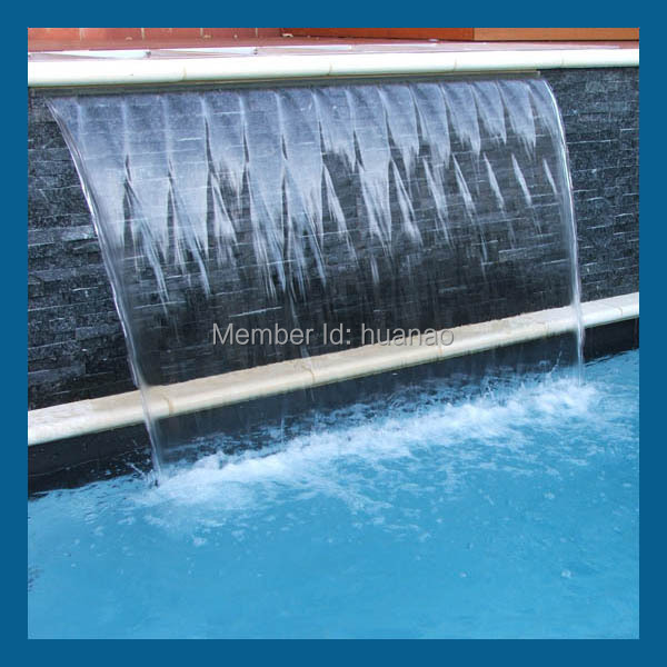 Outdoor Marble Wall Waterfall Fountain Waterfall Wall Modern Wall Fountain Plastic Waterfall