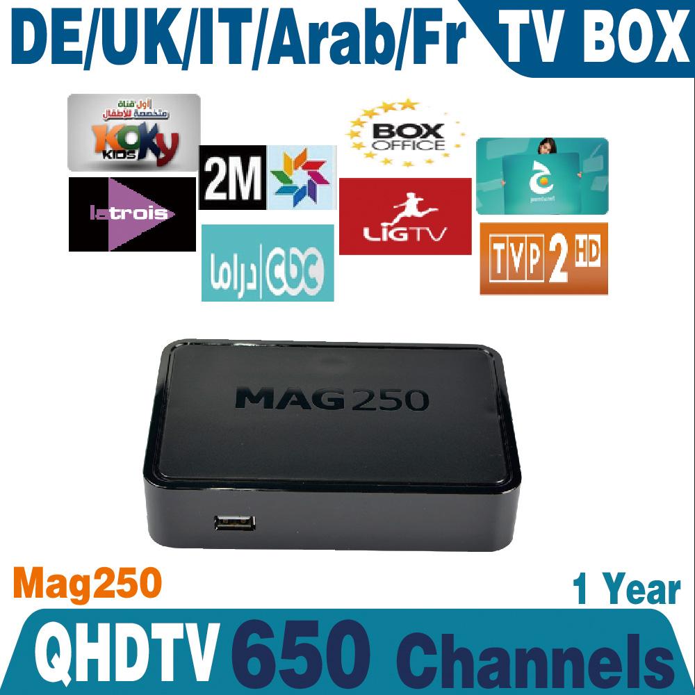 Linux arabic iptv box MAG250 Europe IPTV Account 1year qhdtv BeinSports Canal MAG250 French Arabic IPTV Box<br><br>Aliexpress