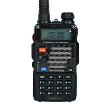 Baofeng UV-5RE Plus Talkie Walkie Dual Band Two Way Radio Pofung UV 5RE 5 W 128CH UHF VHF FM VOX Double Affichage radio comunicador(China (Mainland))