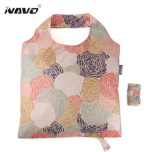 NAVO eco bag large size fashion folding shoping bags eco-friendly foldable reusable light weight shopping grocery bags sac cabas(China (Mainland))