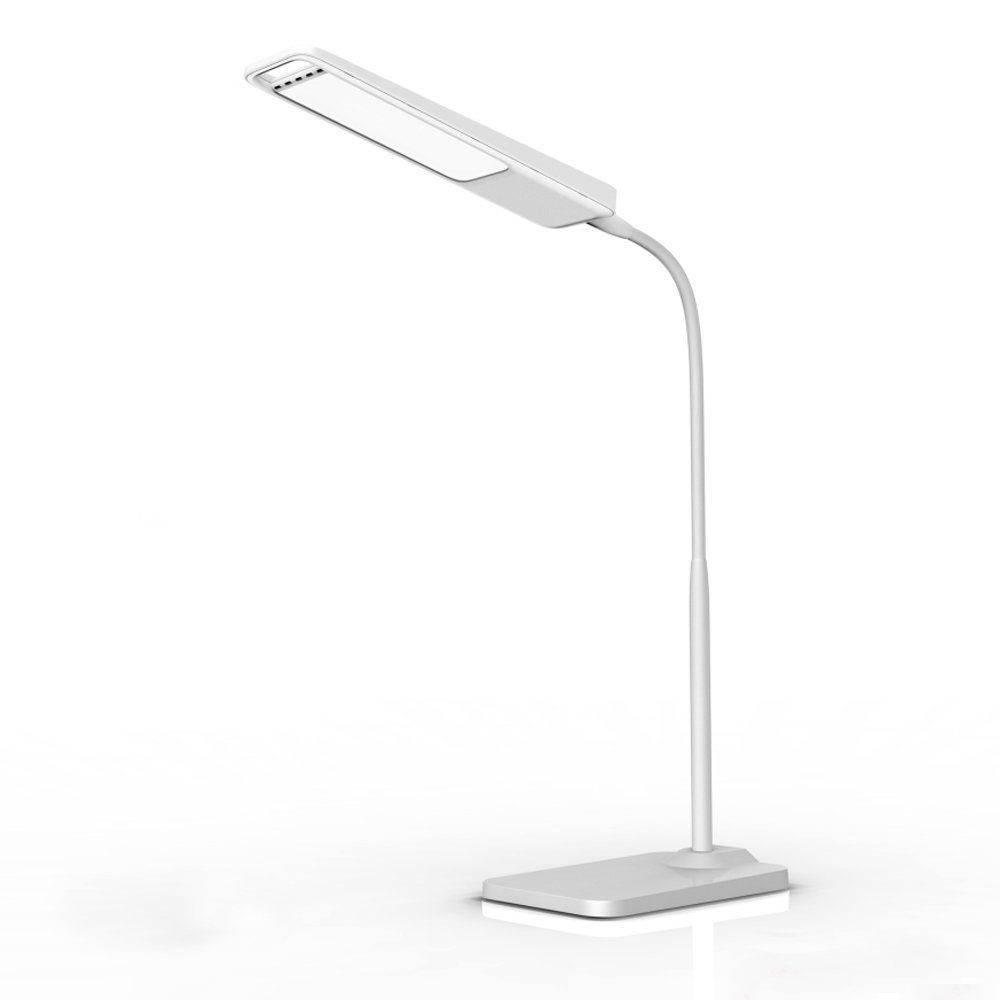 New arrive Gooseneck 6W LED Desk Lamp / 3-Level Dimmer, Touch-Sensitive Controller, Portable Lightweight Table Reading(White)(China (Mainland))