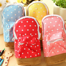 school pencil case Box backpack kawaii pencilcase astuccio scuola trousse school tools estuches school girl cute kalem kutu(China (Mainland))