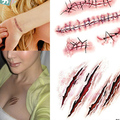 Fake Temporary Tattoos Stickers Lace Flower Purfle Branch Sexy Body Art Stylish High quality Free shipping