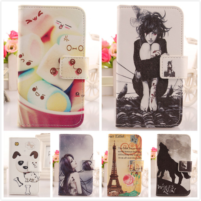 1pcs Accessory Colored Drawing Pattern Leather Flip Wallet Card Holder Design Protective Cover Case For Nokia Lumia 920 BOWEIKE(China (Mainland))