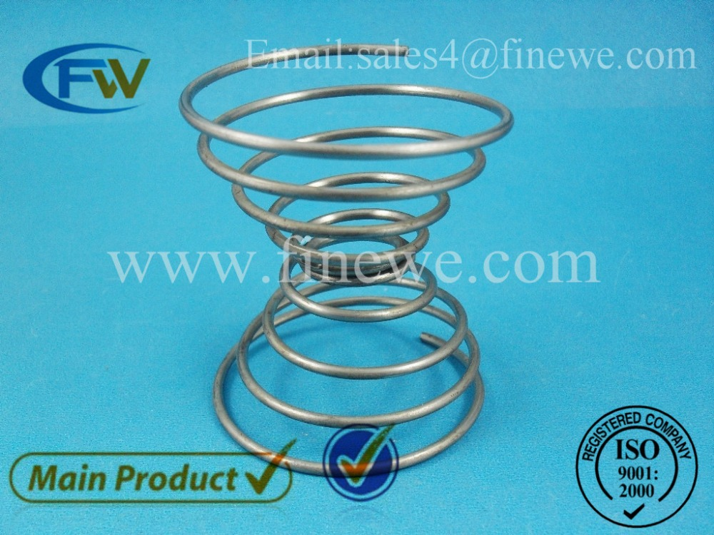 Manufacture galvanized compression springs, coil spring, zinc spring cup(China (Mainland))