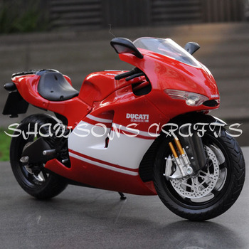 DIECAST MODEL TOY 1/12 DUCATI DESMOSEDICI RR 2009 MOTORCYCLE SPORT BIKE REPLICA COLLECTIONS