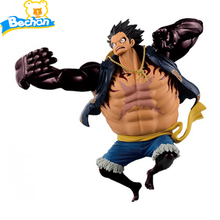 Hot Anime One Piece Action Figure SCultures Luffy Gear 4 PVC LuffyToy Figurine Doll Gift Children - Bechan Toy store