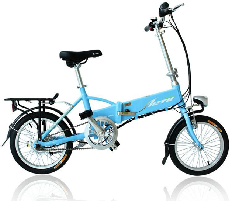 16'' Electric Bicycle,Only 16.5,High Quality Lithium Battery.250W Motor and Aluminum Alloy Frame.(China (Mainland))