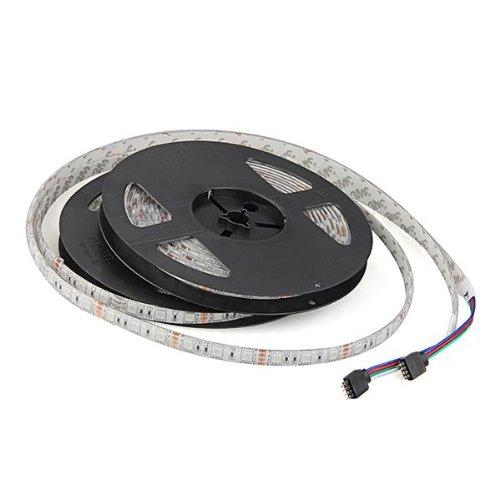 Hot!10M 2x5M Bande Ruban Flexible Lumineux 5050 SMD 600 LED RGB RVB DC 12V Etanche<br><br>Aliexpress