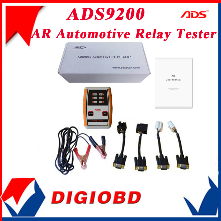 2014 100% Original ADS AR Automotive Relay Tester Popular Relays Available commercial vehicles motorcycles - LAUNCH DIGIOBD Diagnostic Tool's Store store