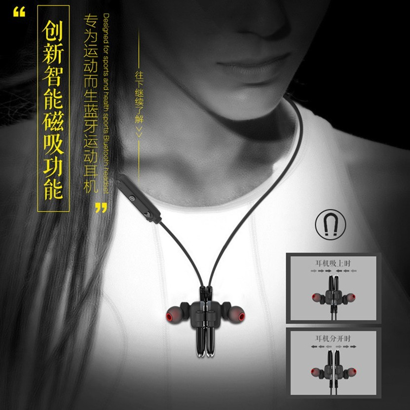Awei Sport Cordless Wireless Headphone Blutooth Headset Earbuds Auriculares Bluetooth Earphone In-Ear For Your In Ear Phone Buds