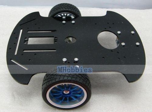 wholesale HC-3 2WD Educational Robot car chassis mobile platform free shipping(China (Mainland))