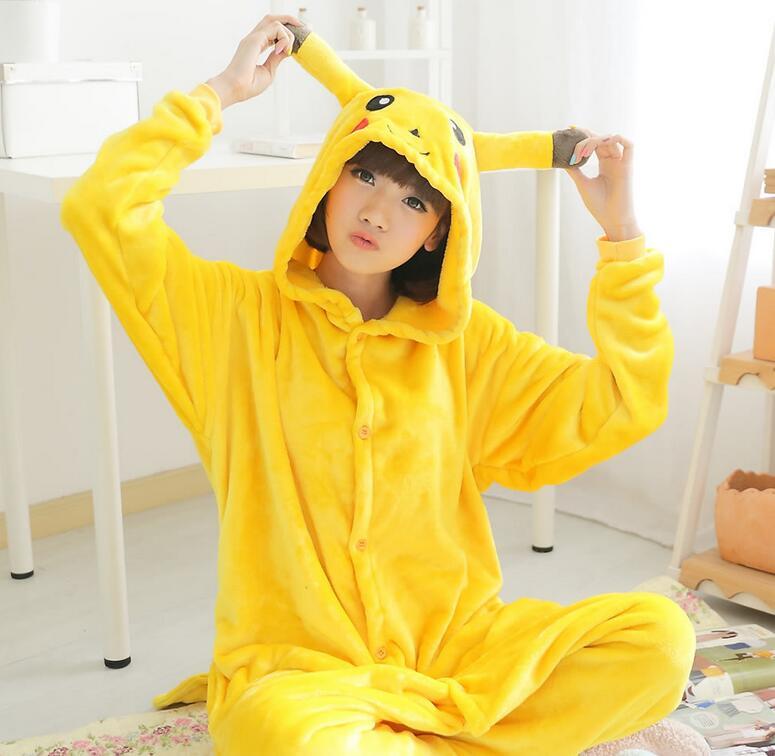 Hot Anime Cosplay Pokemon Pikachu Sleepwear Regino Knitting Adult Footed Girls Pajamas 2016 Carnival Halloween Costume - rockabilly dress costume clothes mfg store