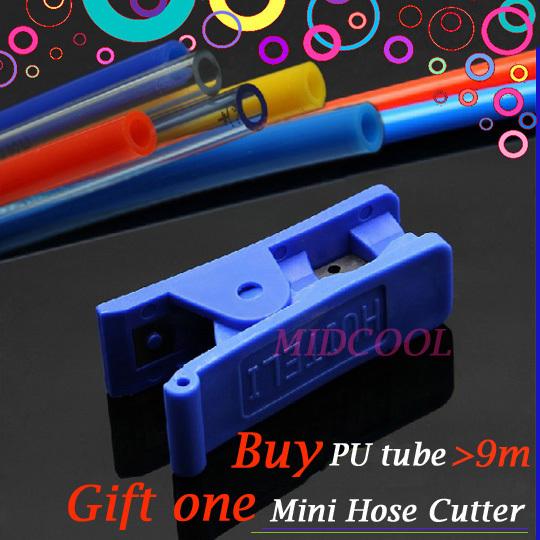 Special Events Gift mini PU Cutter pneumatic hose thermoplastic polyurethane tubing PU4*2.5 OD 4mm ID 2.5mm polyurethane tube(China (Mainland))