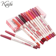 12pcs/lot 15CM 12Colors/Set Waterproof Lip Liner Pencil Women's Professional Long Lasting Lipliner Lips Makeup Tools(China (Mainland))