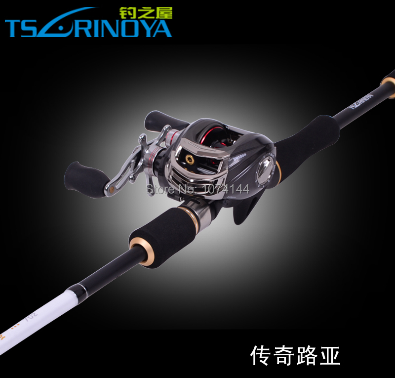 Trulinoya Legend 2.1M Casting Rod Fishing Rod 2 Tips Power M & ML Spare Tip High Carbon Fishing Tackle (No Reel)(China (Mainland))